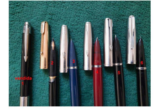Colecao de canetas Parker antigas