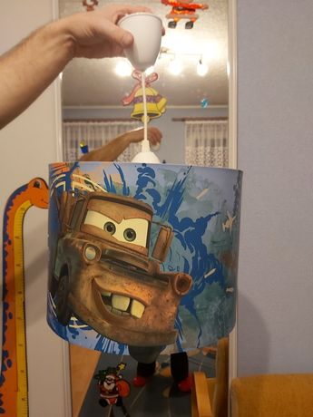 Lampa Disney Cars 2