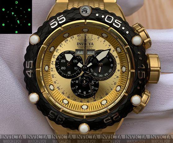 Швейцарские часы Invicta 21676 Subaqua Noma VI Gold Chronograph