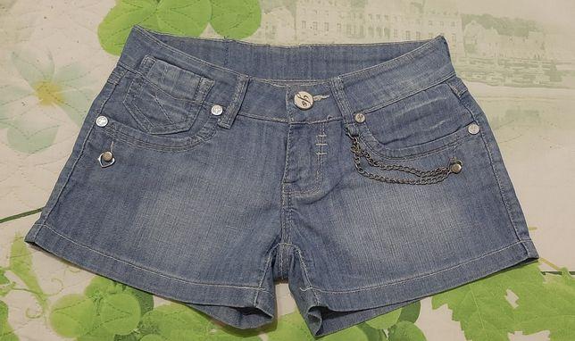 Стильные джинсовые шортики