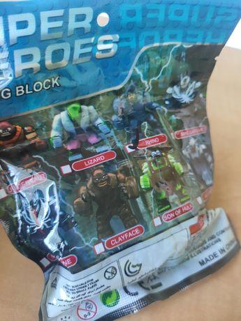 Nowa figurka klocki Rhino Marvel Avengers Superheroes