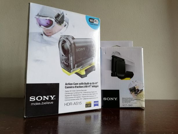 Sony HDR AS15 (action cam)