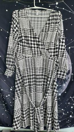 Платье в клетку H&M