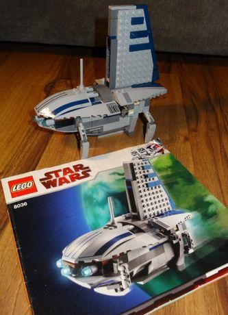 Lego 8036 Star Wars Separatist Shuttle zestaw klocki
