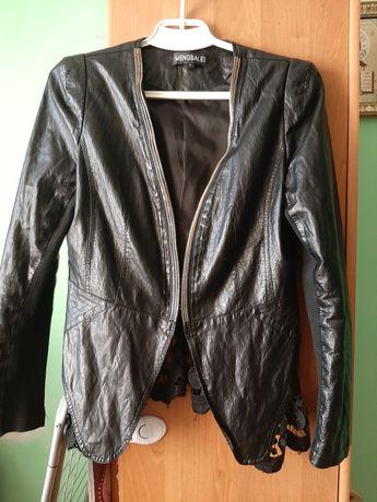 Шкіряна курточка L розмір ( кожанна куртка )