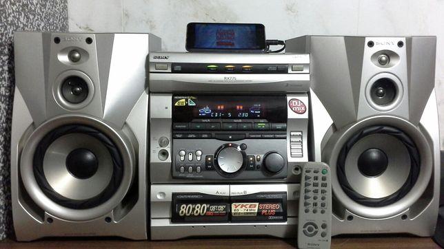 Музыкальный центр SONY MHC-RX77S / Караоке / АUX .