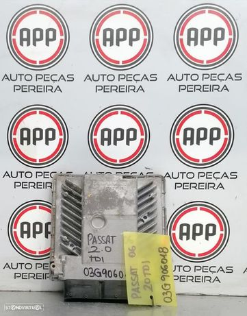 Centralina VW Passat B6  2.0 TDI referência 03G906018.