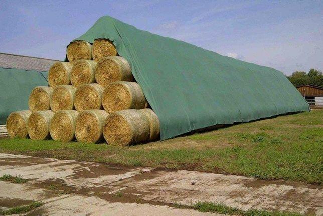 Fliz,plandeka, włóknina -Ochrona słomy przed deszczem