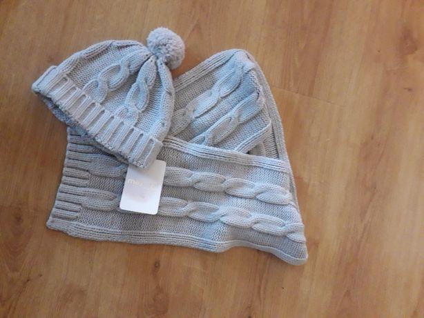 Mayoral nowy zestaw na zimę czapka szalik j.hm Reserved