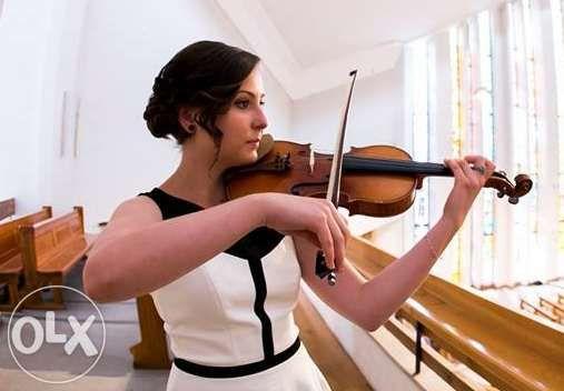 Oprawa muzyczna ślubów - skrzypce