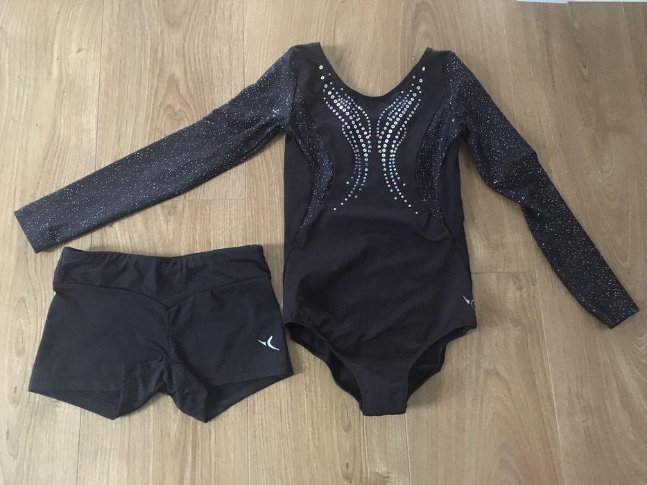 Wyprzedaż strój gimnastyczny 128/134 Trzebnica - image 1
