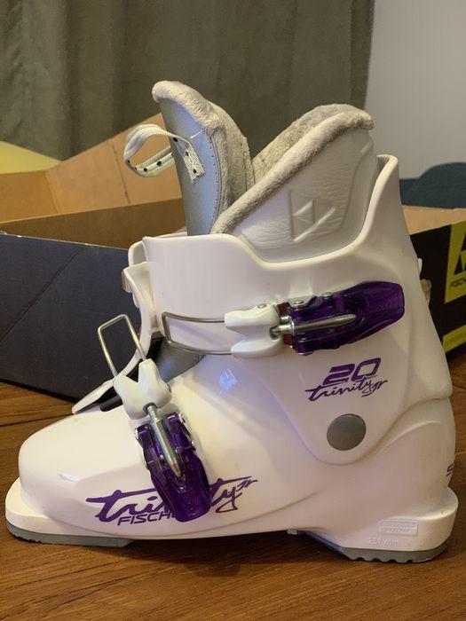 Super okazja/ buty narciarskie dziewczynka FISCHER Gdańsk - image 1
