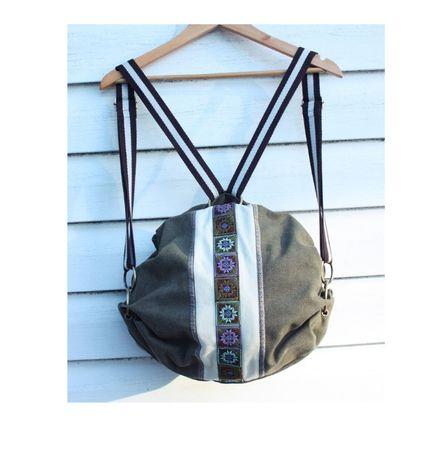 Plecak w stylu boho hippie