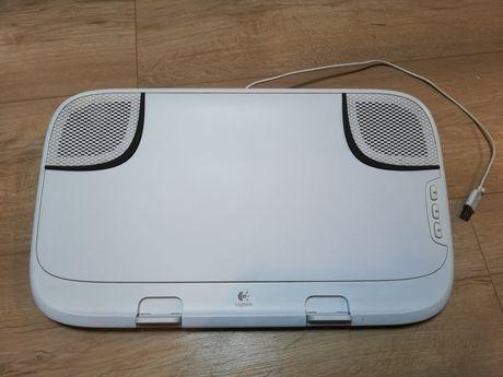 Logitech lapdesk N550 stereo do laptopów