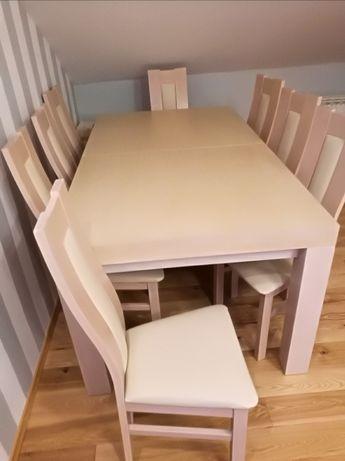 Sprzedam stół z 8 krzesłami