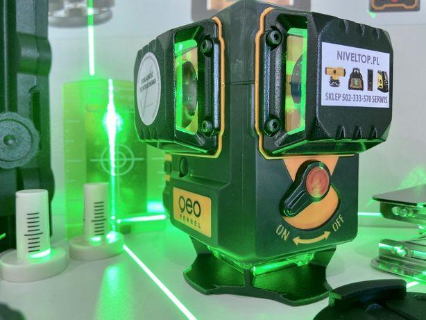 Geo Fennel GEO6 XR Green laser krzyżowy płaszczyznowy 3D zielony 3x360