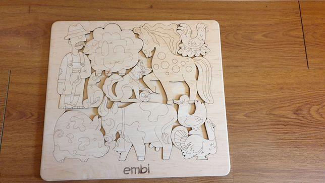 Деревяні звірі embi