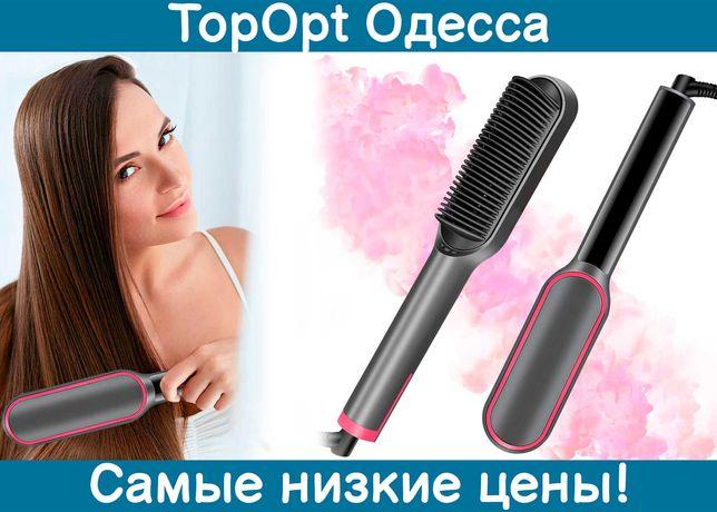 Расческа-выпрямитель Hair Straightener с турмалиновым покрытием,плойка