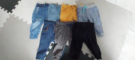 Spodnie dresowe, jeansy 74