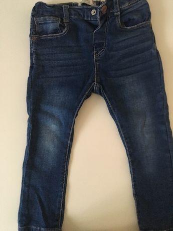 Rurki jeans ZARA rozmiar 92