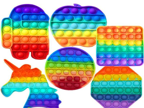 Только ОПТ: Поп Ит (Pop it)  и Симпл Димпл оптом антистресс игрушка
