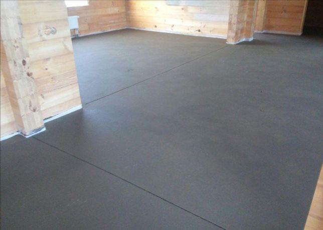Стяжка пола сухая, машинная, бетонные полы. Лучшая цена