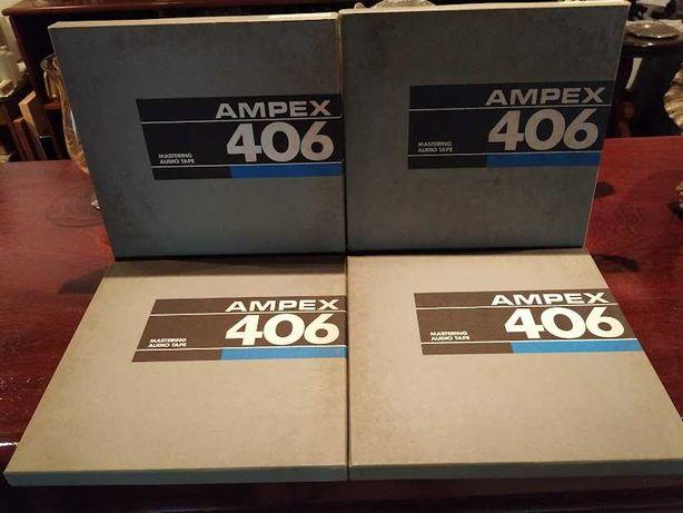 Bobines  AMPEX 406 10.5/26,5cm 1/4 - Reel-to-Reel Tapes