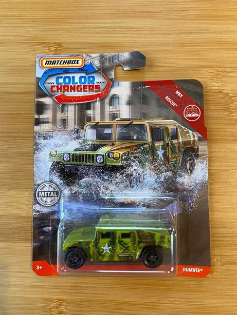 Matchbox Humvee [Color Changers] RZADKI!