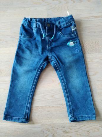 Spodnie, jeansy, r. 86, C&A