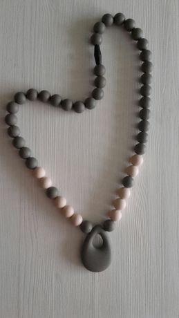 Gryzak silikonowy biżuteria dla mamy MEA BABY WEARING korale