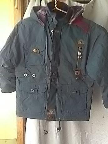 Зимняя теплая куртка «BHS» на мальчика 7-8 лет. Размер 128