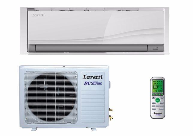 Инверторный кондиционер LARETTI до -15°.Холод-Тепло. Отличное качество