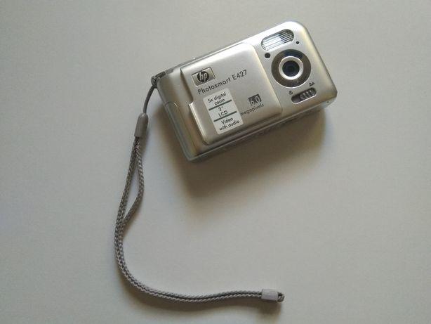 Máquina Fotográfica HP Photosmart E427 + Bolsa Case Logic + Cartão SD
