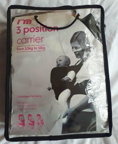 Эрго - рюкзак, кенгуру, Mothercare 3 Positions.
