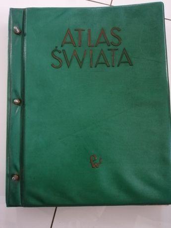 Atlas świata z 1962 roku