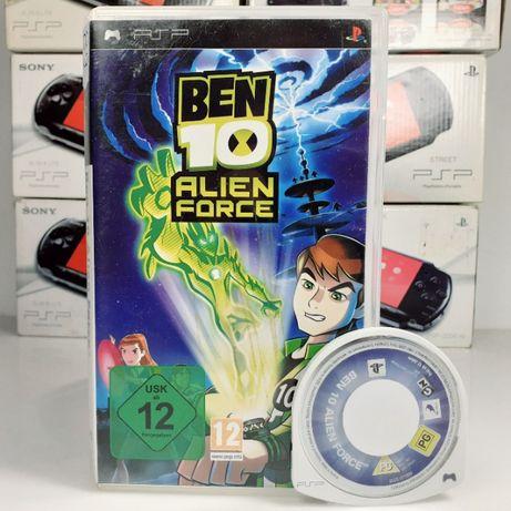 BEN 10 Alien Force SONY PSP przygodowa gra dla dziecka #89