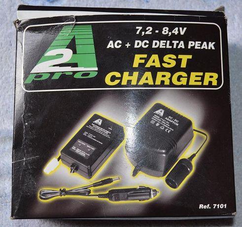 Carregador para baterias RC 7.2-8.4V