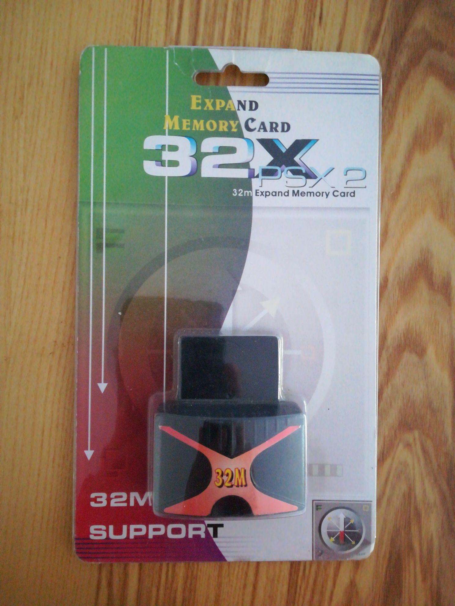 Expansão de memória 32MB para PS2