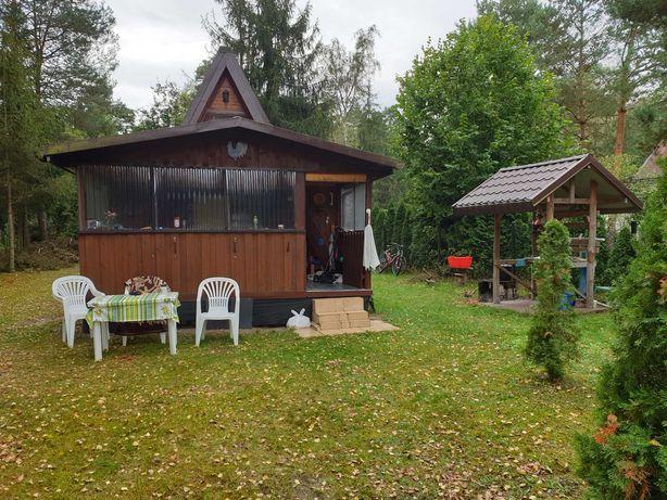 Sprzedam działkę rekreacyjno/budowlaną (1900m2) z domkiem; Szyszki