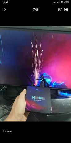 Смарт ТВ-приставка 2021 H96 MAX V11 андроид 11