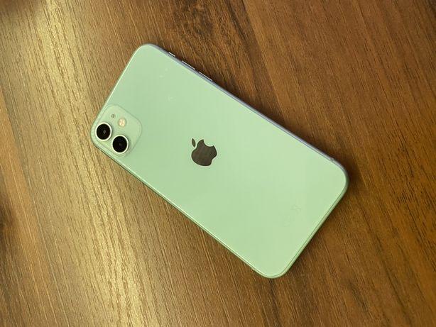 Apple iPhone 11 64GB - bat. 100% zielony Gwarancja