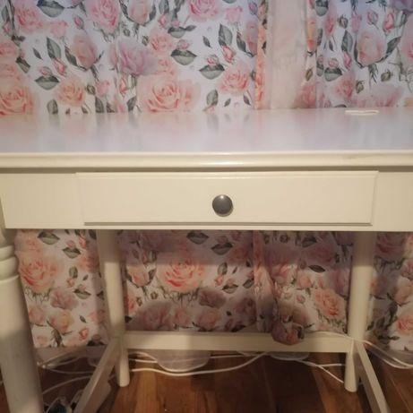 Biurko/stolik rozkładany, biały
