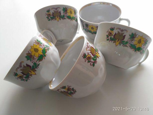 Чашки фарфоровые 400мл 6шт, чашка