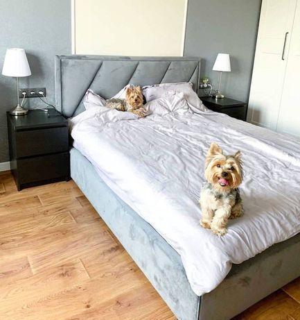М'яке ліжко з нішою/ Мягкая кровать с подьемным механизмом