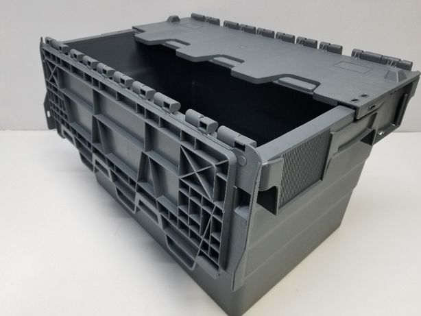 Pojemnik transportowy kurierski magazynowy dystrybucyjny-60x40x32cm.