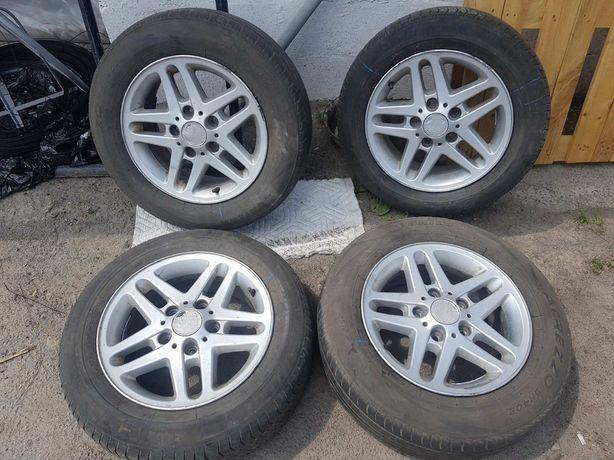 Титанові диски 6.5Jx15 диски R15 з резиною для   Volkswagen  Caddy
