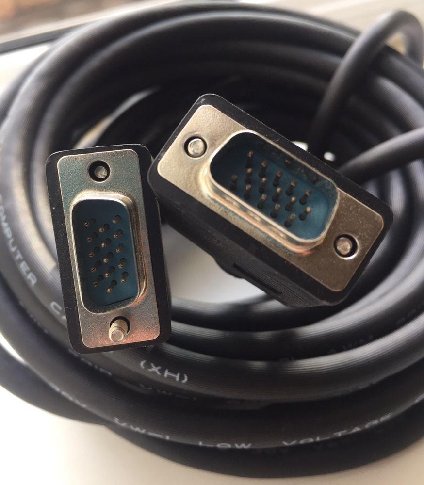 Продам кабель VGA (папа-папа) 10 метров, новый