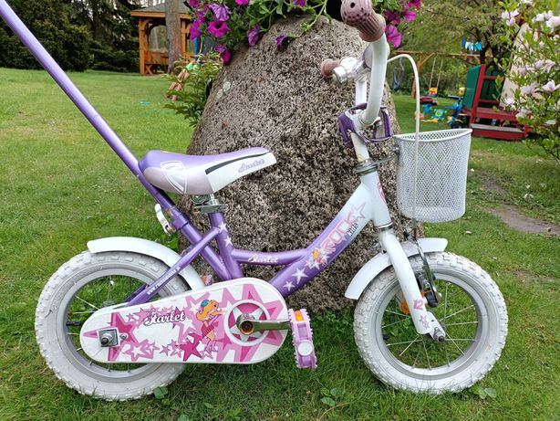 Rower dla dziewczynki do nauki jazdy