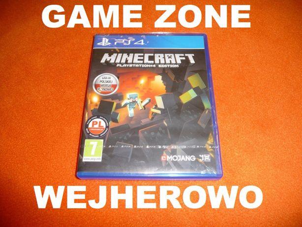 Minecraft Edition PS4 + Slim + Pro = PŁYTA PL Wejherowo
