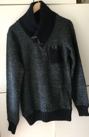 Sweter męski kardigan young&rich M